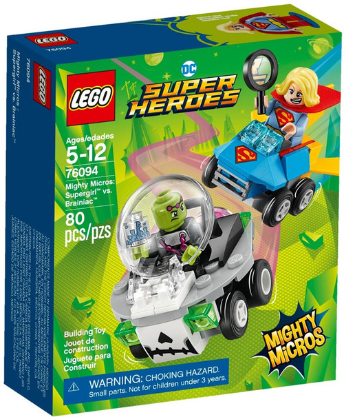 LEGO DC Super Heroes Mighty Micros Supergirl vs. Brainiac Set #76094