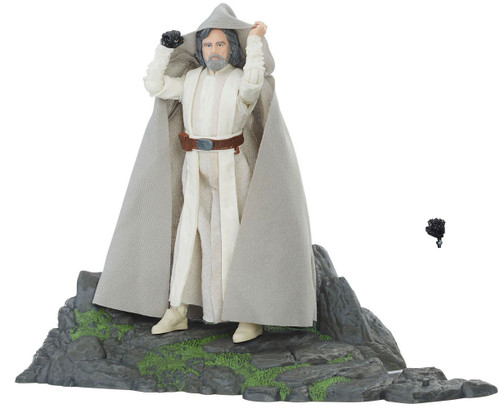 Star Wars The Last Jedi Black Series Luke Skywalker (Jedi Master) Exclusive Action Figure [Ahch-To Island]