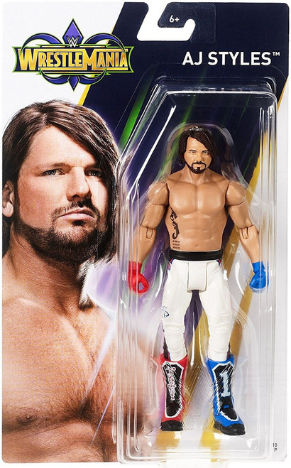 WWE Wrestling WrestleMania 34 AJ Styles Action Figure