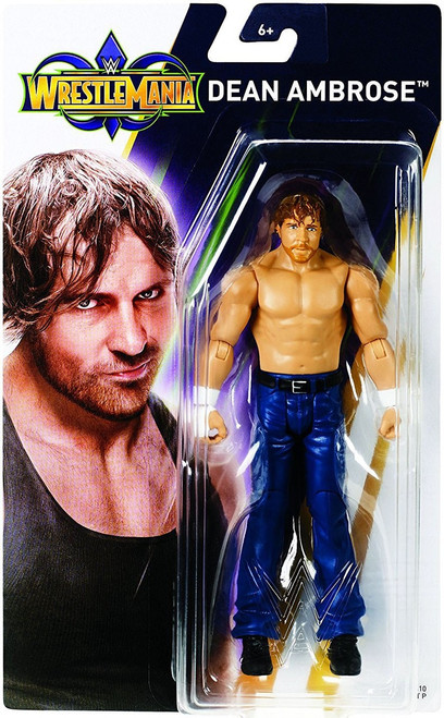 WWE Wrestling WrestleMania 34 Dean Ambrose Action Figure