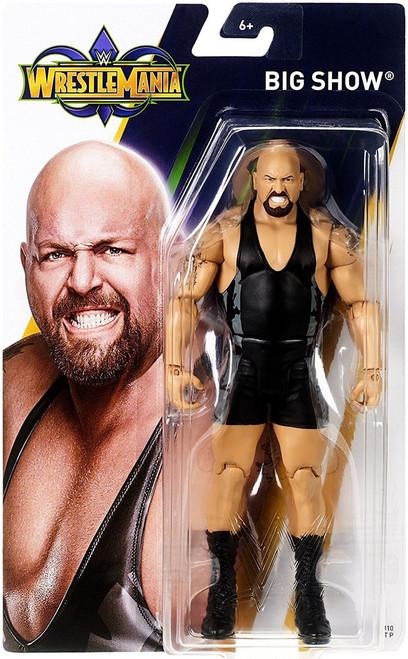 WWE Wrestling WrestleMania 34 Big Show Action Figure