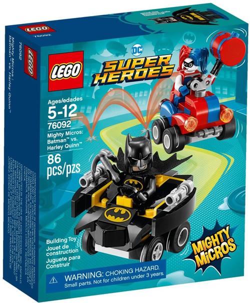 LEGO DC Super Heroes Mighty Micros Batman vs. Harley Quinn Set #76092