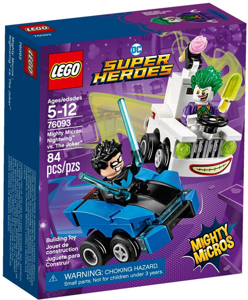 LEGO DC Super Heroes Mighty Micros Nightwing vs. The Joker Set #76093