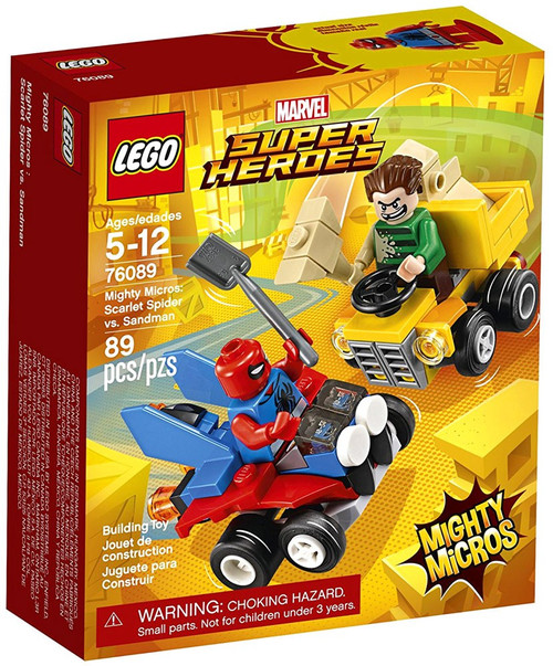 LEGO Marvel Super Heroes Mighty Micros Scarlet Spider vs. Sandman Set #76089