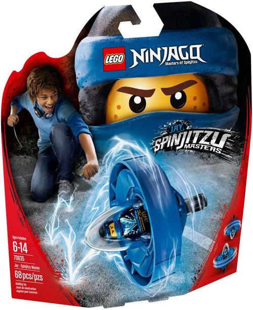 LEGO Ninjago Jay - Spinjitzu Master Set #70635