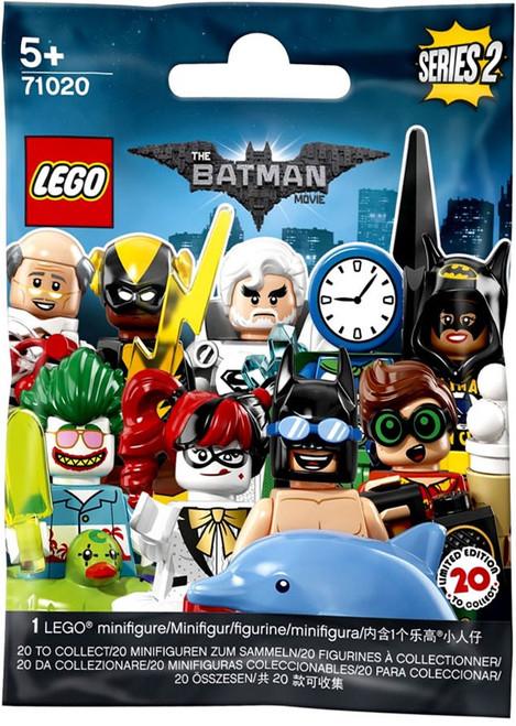 LEGO Minifigures Series 2 The Batman Movie Mystery Pack [1 RANDOM Figure]