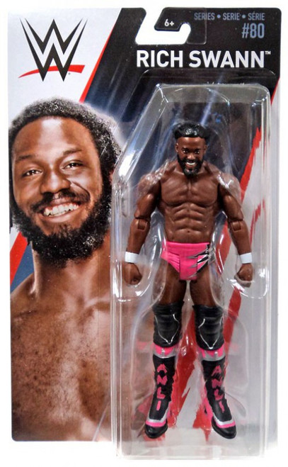 WWE Wrestling Series 80 Rich Swann Action Figure