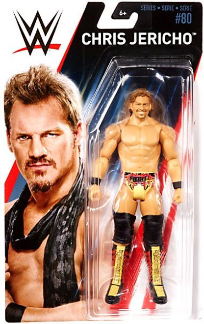 WWE Wrestling Series 80 Chris Jericho Action Figure