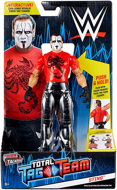 WWE Wrestling Tough Talkers Total Tag Team Sting Action Figure