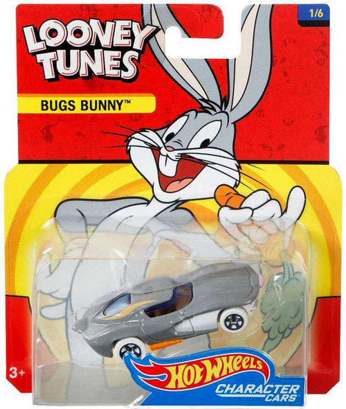 Hot Wheels Looney Tunes Character Cars Bugs Bunny Diecast Car #1/6