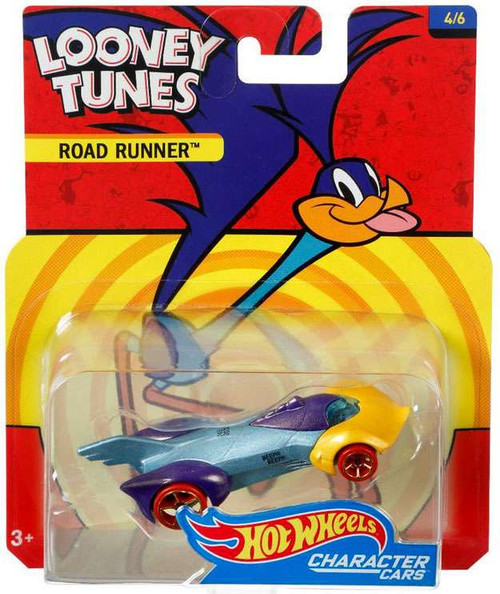 Hot Wheels Looney Tunes Character Cars Road Runner Die-Cast Car #4/6