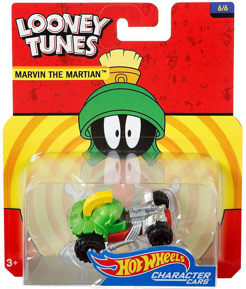 Hot Wheels Looney Tunes Character Cars Marvin The Martian Diecast Car