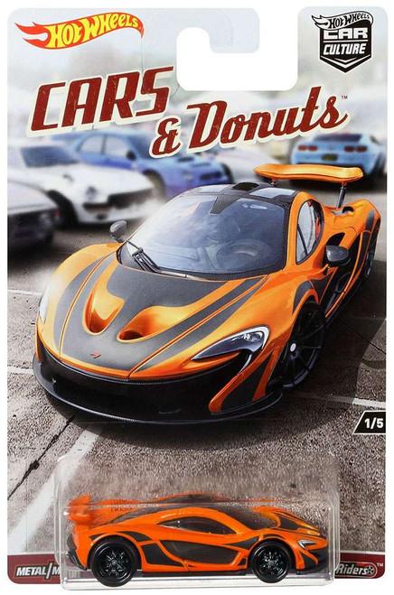 Hot Wheels Car Culture Cars & Donuts McLaren P1 Diecast Car #1/5