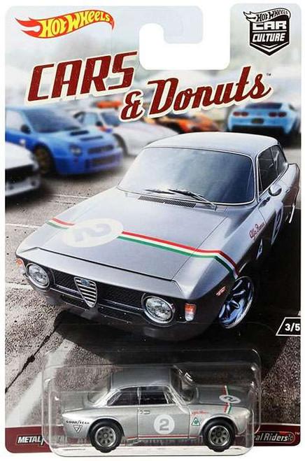 Hot Wheels Car Culture Cars & Donuts Alfa Romeo Giulia Sprint GTA Diecast Car #3/5