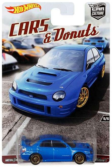 Hot Wheels Car Culture Cars & Donuts Subaru Impreza WRX Diecast Car #5/5