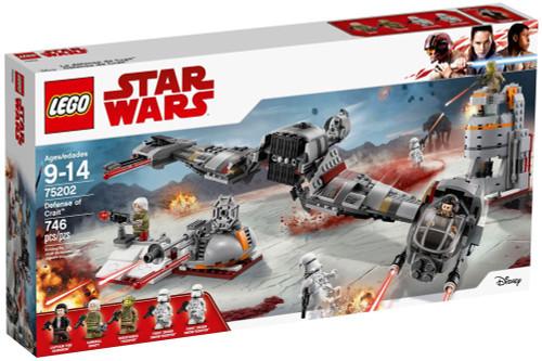 LEGO Star Wars Defense of Crait Set #75202