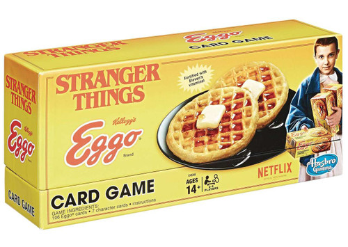 Stranger Things Kellogg's Eggo Card Game