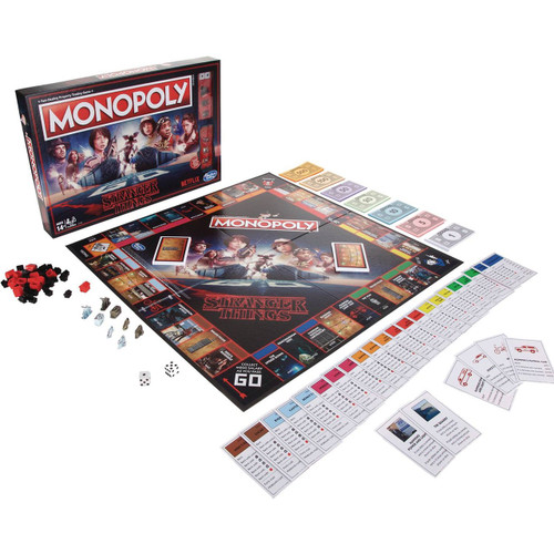 Stranger Things Monopoly Board Game [Standard Edition]