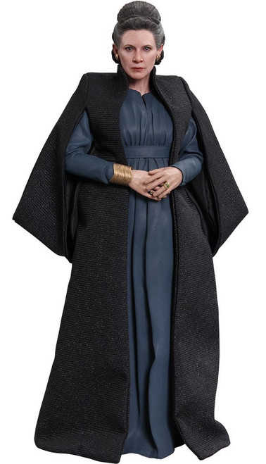 Star Wars The Last Jedi Movie Masterpiece General Leia Organa Collectible Figure MM459