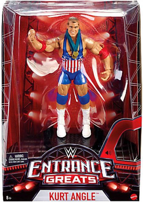 WWE Wrestling Entrance Greats Kurt Angle Action Figure