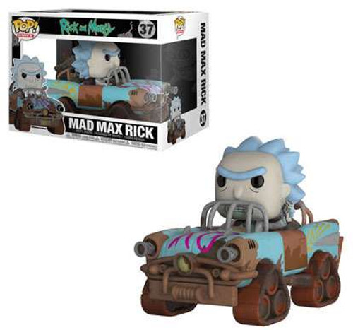 Funko Rick & Morty POP! Rides Mad Max Rick Vinyl Figure #37