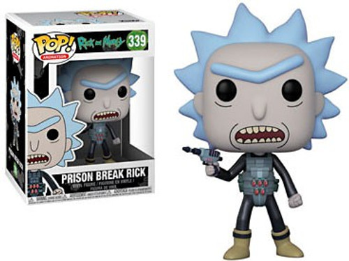 Funko Rick & Morty POP! Animation Prison Break Rick Vinyl Figure #339