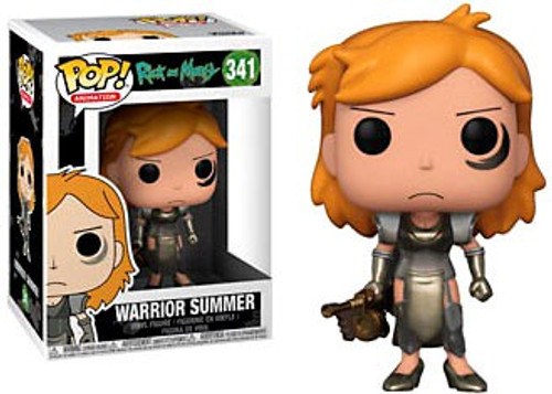 Funko Rick & Morty POP! Animation Warrior Summer Vinyl Figure #341