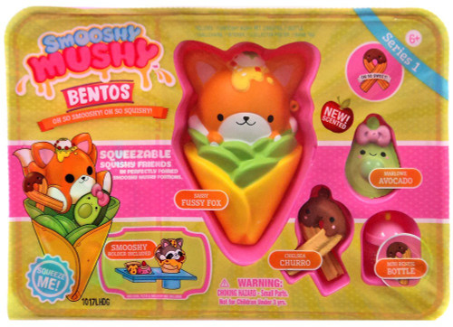 Smooshy Mushy Bentos Fussy Fox Playset