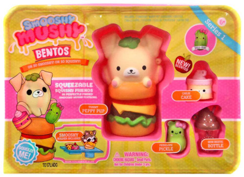 Smooshy Mushy Bentos Series 1 Peppy Pup Playset