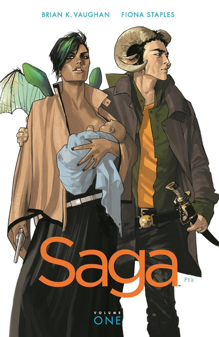 Image Comics Saga Vol. 1 Trade Paperback Comic Book #1