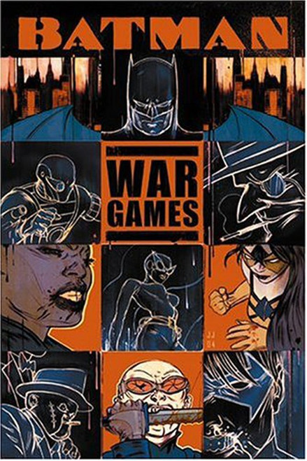 DC Batman War Games Act One Outbreak Trade Paperback