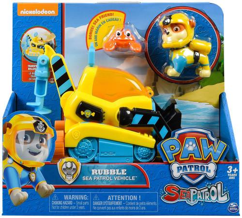Paw Patrol Sea Patrol Rubble Vehicle & Figure [Sea Patrol Vehicle]