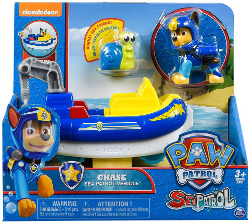 Paw Patrol Sea Patrol Chase Vehicle & Figure [Sea Patrol Vehicle]