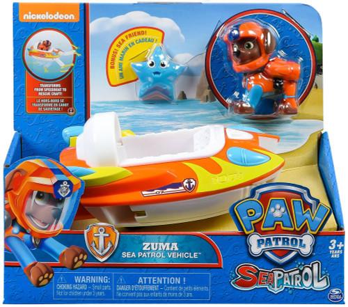 Paw Patrol Sea Patrol Zuma Vehicle & Figure [Sea Patrol Vehicle]
