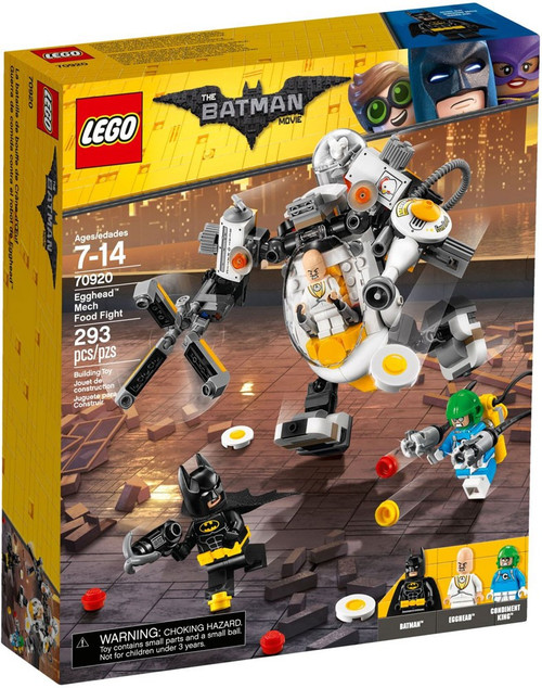 LEGO DC The Batman Movie Egghead Mech Food Fight Set #70920