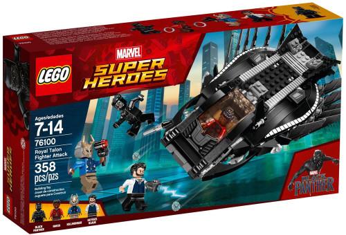 LEGO Marvel Super Heroes Royal Talon Fighter Attack Set #76100