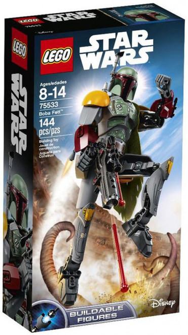 LEGO Star Wars Buildable Figures Boba Fett Set #75533