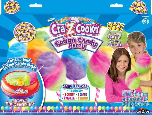 Cra-Z-Cookn' Cotton Candy Party Refill Pack