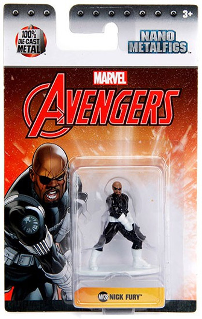 Marvel Avengers Nano Metalfigs Nick Fury 1.5-Inch Diecast Figure MV28