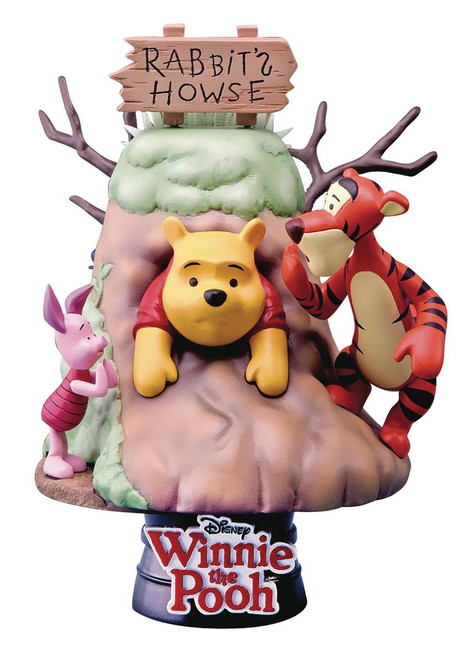 Disney D-Select Winnie the Pooh Exclusive 6-Inch Diorama Statue DS-006