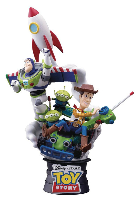 Disney D-Select Toy Story Exclusive 6-Inch Diorama Statue DS-007