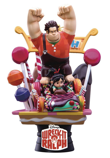 Disney D-Select Wreck-It Ralph Exclusive 6-Inch Diorama Statue DS-008