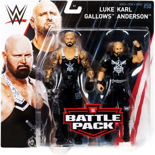 WWE Wrestling Battle Pack Series 50 Luke Gallows & Karl Anderson Action Figure 2-Pack