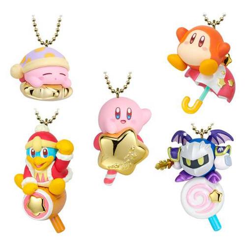 Bandai Shokugan Vol. 1 Kirby Twinkle Dolly 1.9-Inch Box of 10 Mini Figures