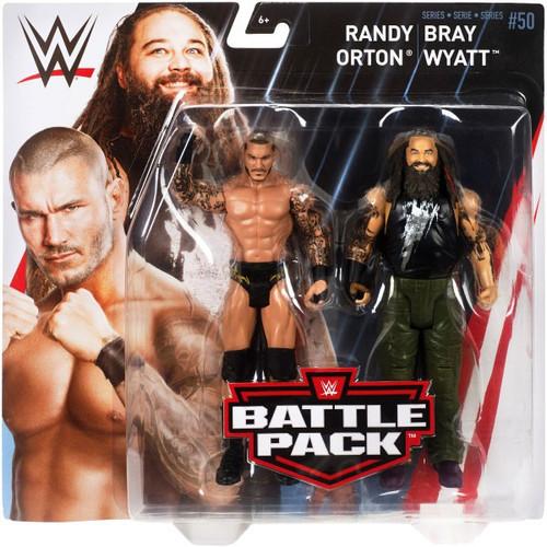 WWE Wrestling Battle Pack Series 50 Randy Orton & Bray Wyatt Action Figure 2-Pack