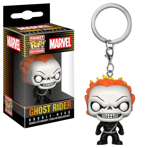 Funko POP! Marvel Ghost Rider Keychain