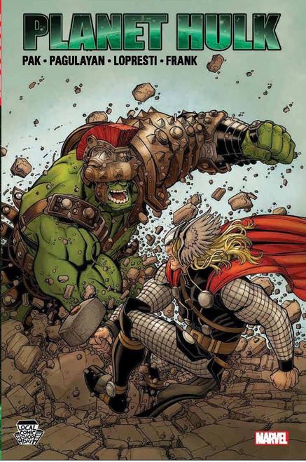 The Incredible Hulk Planet Hulk Exclusive Hardcover Comic Book