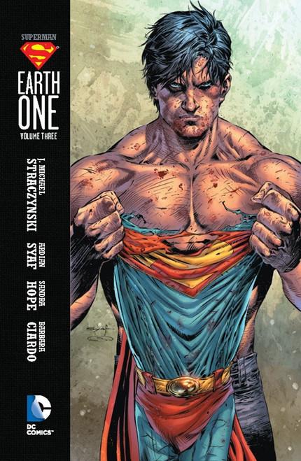DC Superman: Earth One Vol. 3 Hardcover Comic Book #3
