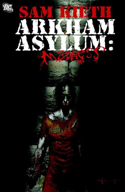 DC Arkham Asylum: Madness Hardcover Comic Book