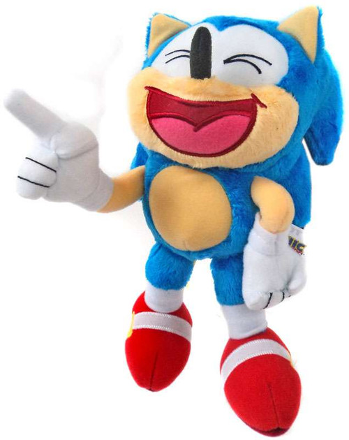 Sonic The Hedgehog Sonic 8-Inch Plush [Laughing]